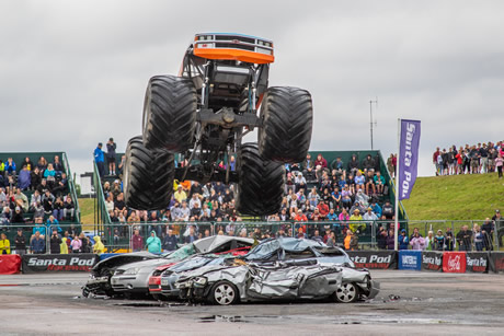 Bug Jam VW Festival - VW / Campervan Show with Drag Racing